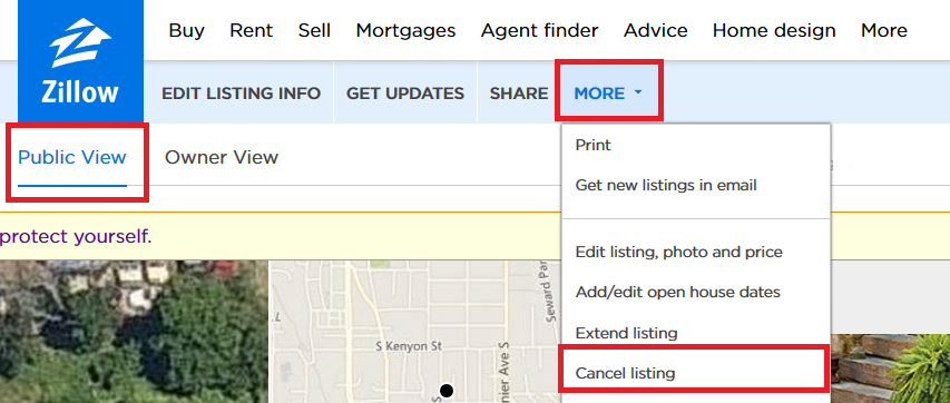 How do I cancel my for sale by owner listing? – Zillow Help Center