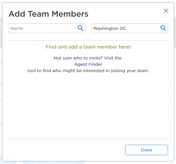 How Can I Add A Team Member To My Team Profile Zillow Help Center