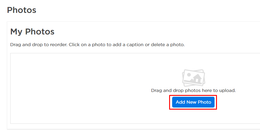 how do i add photos to my for sale by owner listing