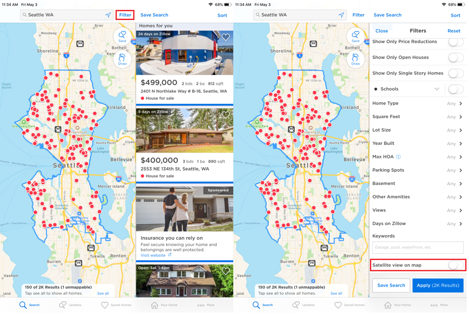 How do I change the map style? – Zillow Help Center Satellite Maps Of Homes on satellite map of ukraine, satellite map of n c, satellite map of florida, satellite map india, satellite map of turkey, satellite coverage map, google maps of homes, satellite map of lahore, satellite imagery by address, satellite map of mars, satellite map of fiji, street of homes, satellite map of an address, zoom satellite homes, satellite map of italy, satellite map of north and south america, satellite jammer system, satellite map of earth, satellite map sites, satellite imagery of my house,