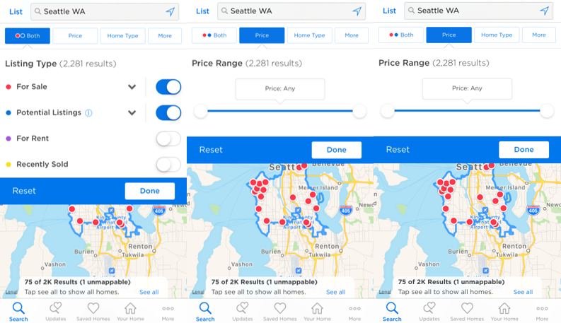 How do I search for homes on the Zillow mobile app? – Zillow Help Zillow Map Of Homes on denver neighborhood map, google earth map, etsy home map, colorado united states map, facebook home map, verizon home map, black sea map, neighborhood home values map, google home map,