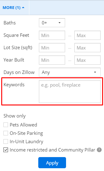 How Do I Search For Section 8 Rental Housing Zillow Help Center