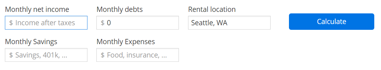 Rent affordability calculator – zillow help center.