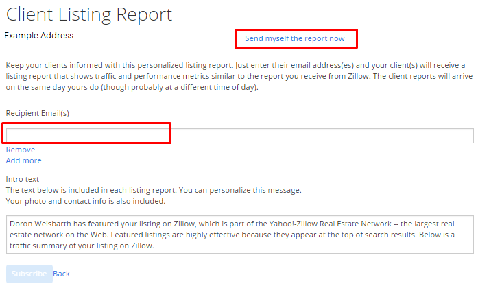 why am i not receiving listing reports zillow help center