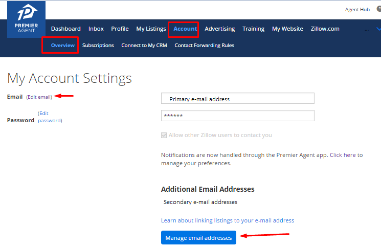 how do i sync my listings with my zillow profile zillow help center