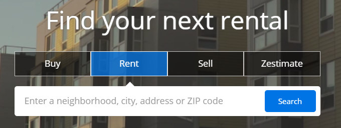 How do I search for rentals? – Zillow Help Center