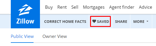 Deleting A Saved Home Zillow Help Center